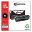 Innovera Innovera Remanufactured Q2612A (12A) Laser Toner, 2000 Yield, Black IVR83012
