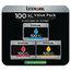 Lexmark Lexmark 14N0684 (100XL) High-Yield Ink, 600 Pg-Yield, 3/Pk, Cyan, Magenta, Yellow LEX14N0684