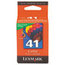 Lexmark Lexmark 18Y0141 (41) Color Print Cartridge, Tri-Color LEX18Y0141