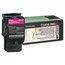 Lexmark Lexmark C540A1MG Toner, 1000 Page-Yield, Magenta LEXC540A1MG