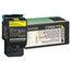 Lexmark Lexmark C540A1YG Toner, 1000 Page-Yield, Yellow LEXC540A1YG