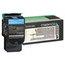 Lexmark Lexmark C540H1CG High-Yield Toner, 2000 Page-Yield, Cyan LEXC540H1CG