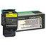 Lexmark Lexmark C540H1YG High-Yield Toner, 2000 Page-Yield, Yellow LEXC540H1YG