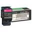 Lexmark Lexmark C544X1MG Extra High-Yield Toner, 4000 Page-Yield, Magenta LEXC544X1MG
