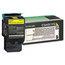 Lexmark Lexmark C544X1YG Extra High-Yield Toner, 4000 Page-Yield, Yellow LEXC544X1YG