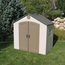 Lifetime Products Sentinel 8' x 5' Shed LTM6406