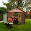 Lifetime Products Brighton 11' x 11' Shed LTM6433