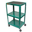 Luxor Duraweld Adjustable Height Table LUXAVJ42-GN