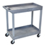 Luxor 2-Shelf High Capacity Tub Cart LUXEC11-G