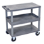 Luxor 18x32 Cart with 2 Flat/1 Tub Shelves LUXEC212HD-G