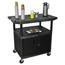 Luxor Coffee Service Cart LUXHE40CWT-B