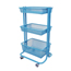 Luxor Kitchen Utility Cart, Blue LUXKUC-BU