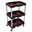 Luxor 3 Shelf Mechanics Cart LUXMC-3