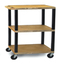 Luxor 3-Shelf Tuffy Cart - 42