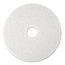 3M White Super Polish Floor Pads 4100 MCO08477