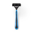 Medline Triple Blade Facial Razors with Lubrication Strip MEDBRN1333Z