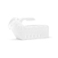 Medline Supreme Clear Urinal MEDDYND80235H