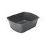 Medline Washbasin, Rectangular, Graphite, 6 Qt MEDDYND80347