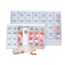 Health Care Logistics Reminder, Pill Box, 7 Day, 4x Per Day, Deluxe Plus MEDHET400407