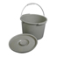 Medline Commode Bucket w/Lid & Handle MEDMDS80306BH