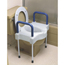 Medline Bariatric X-Wide Raised Toilet Seat MEDMDS80326