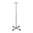 Medline Chrome Four Leg IV Poles MEDMDS80441