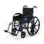 Medline Hybrid 2 Transport Wheelchair MEDMDS806250H2