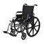 Medline K4 Extra-Wide Lightweight Wheelchair (MDS806565) MEDMDS806565