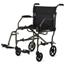 Medline Ultralight Transport Chair, Silver MEDMDS808200F3S