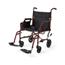 Medline Ultralight Steel Transport Chair, Red MEDMDS808200W