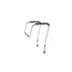 Medline Adjustable Toilet Safety Rails MEDMDS86100RF