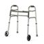Medline Youth Two-Button Folding Walkers with 5