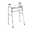 Medline Two-Button Folding Walkers with 3