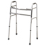 Medline Bariatric Two-Button Folding Walker MEDMDS86410XW