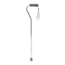 Medline Cane, Offset Handle, Chrome MEDMDS86420CHRW