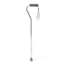 Medline Cane, Offset Handle, Chrome MEDMDS86420CHRWH