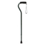 Medline Cane, Offset, Green Ice, Aluminum, 29-38