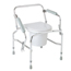 Medline Steel Drop-Arm Commode MEDMDS89668