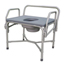 Medline Bariatric Drop-Arm Commode MEDMDS89668XW