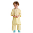 Medline Snuggly Solids Pediatric Pajama Shirt- Yellow, Small MEDMDT011277S
