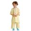 Medline Snuggly Solids Pediatric Pajama Shirt- Yellow, Small MEDMDT011277S
