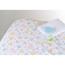 Medline 100% Cotton Woven Crib Sheet, Print, 28