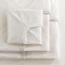 Medline Soft-Fit Knitted Bassinet/Crib Sheet, White Trim MEDMDT218525