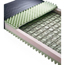 Medline Mattress, Nylex, Spring & Convoluted Foam, Fire Barrier, 35x84x6 MEDMDT231284AFB