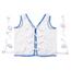 Medline Restraint, Vest, Tie-Back, Koolnit Polyester, Large MEDMDT828004