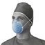 Medline Surgical Cone-Style Face Mask MEDNON27381