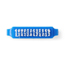Medline Brush, Nail, 33 Tuft, Blue MEDNON801779H
