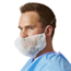 Medline Beard Covers-White-One Size Fits Most MEDNONSH400