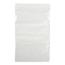 Medline Bag, Zip, White Write-On Block, 5