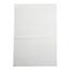 Medline Bag, Zip, White Write On Block, 9x12, 2Mil MEDNONZIP912